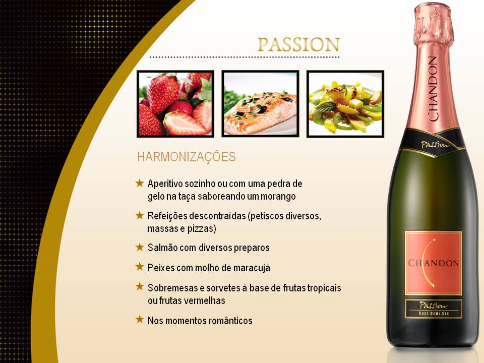 Chandon PowerPoint Exemplo