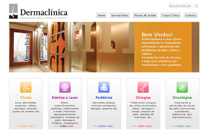 Dermaclinical Site Em Wordpress Clinica Medica