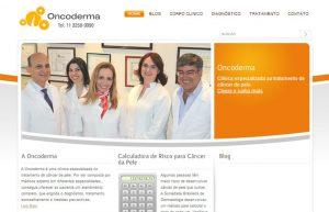 Site para médicos - Oncoderma