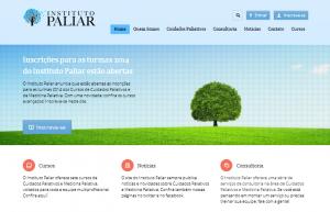 Site para médicos e Clínicas - Paliar