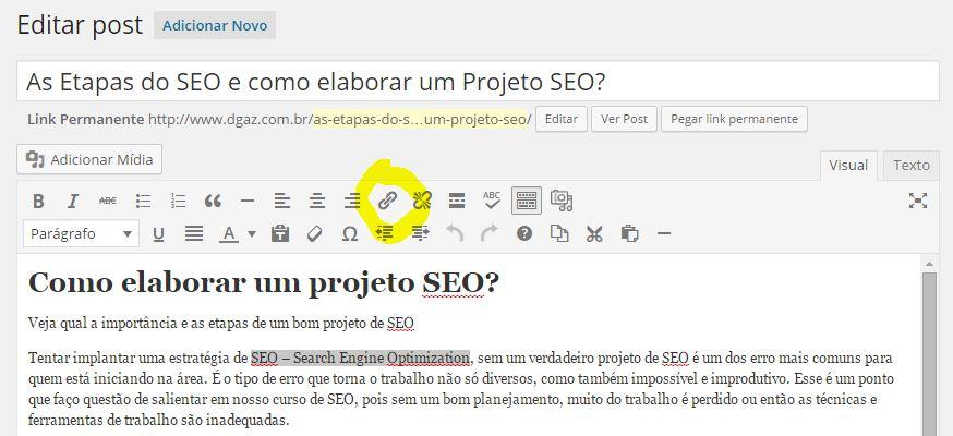 wordpress-criar-url
