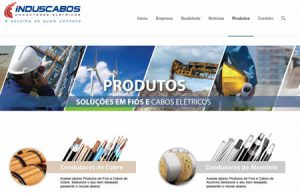 induscabos criacao site wordpress