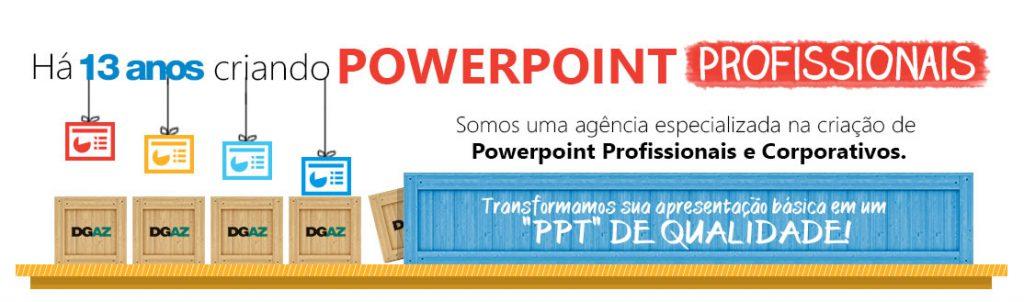 empresa de criação de powerpoint profissionais