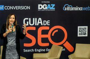Martha Gabriel no Lançamento do Guia de SEO para download criado por agências de marketing e a Abradi-SP