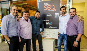 Os mais envolvidos no Lançamento do Guia de SEO para download criado por agências de marketing e a Abradi-SP