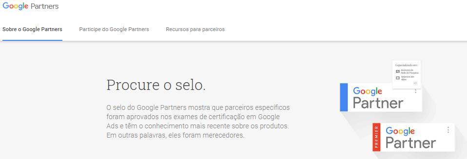 Procure uma agência com especialistas google partner