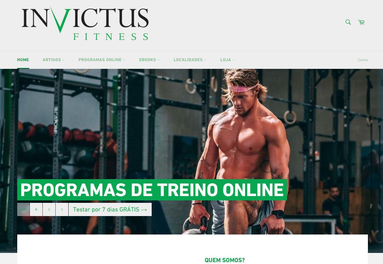 Invictus Fitness - Projeto de SEO